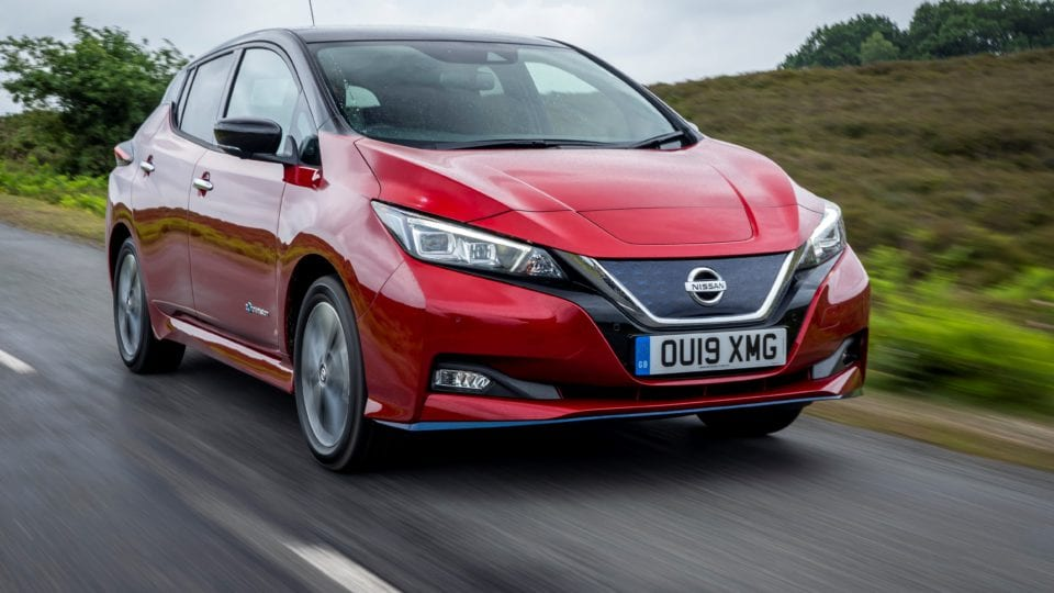 EDF signs new EV co-operation agreement with Nissan