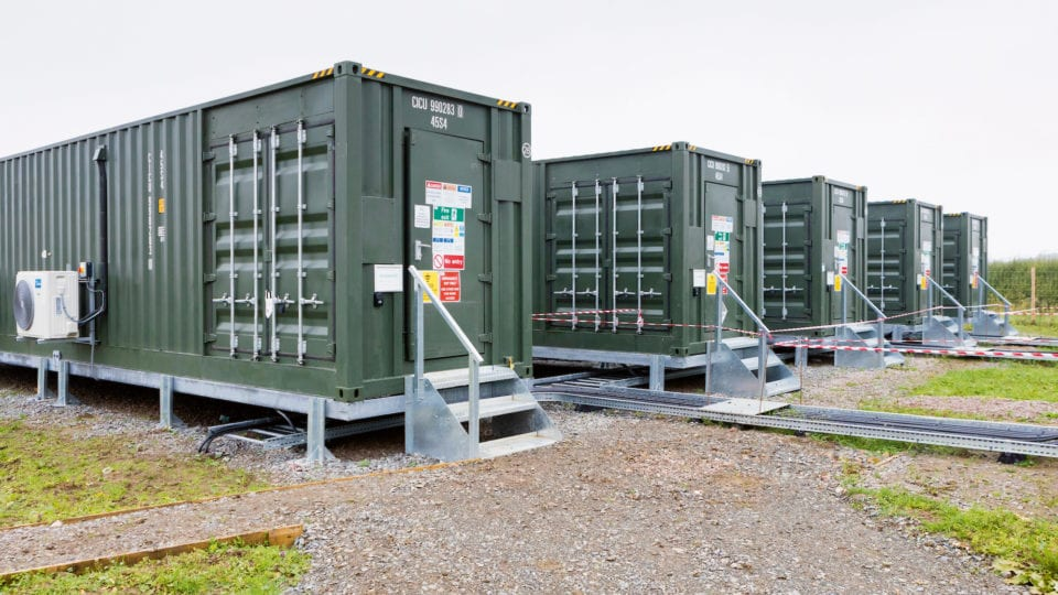 Energy storage: Delivering power locally