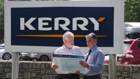 Natural gas now powering Kerry Ingredients plant in Listowel