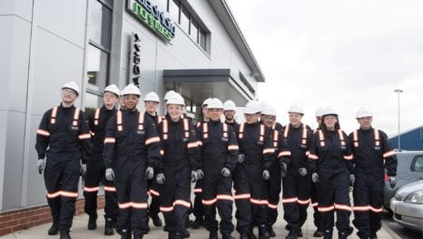 New apprentices taken on by Electricity North West