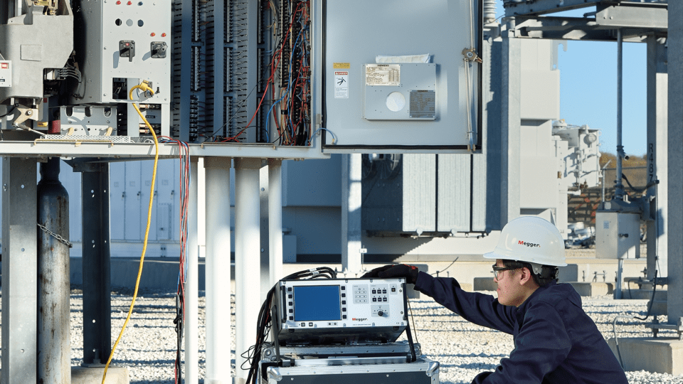 Testing substation circuit breakers safely