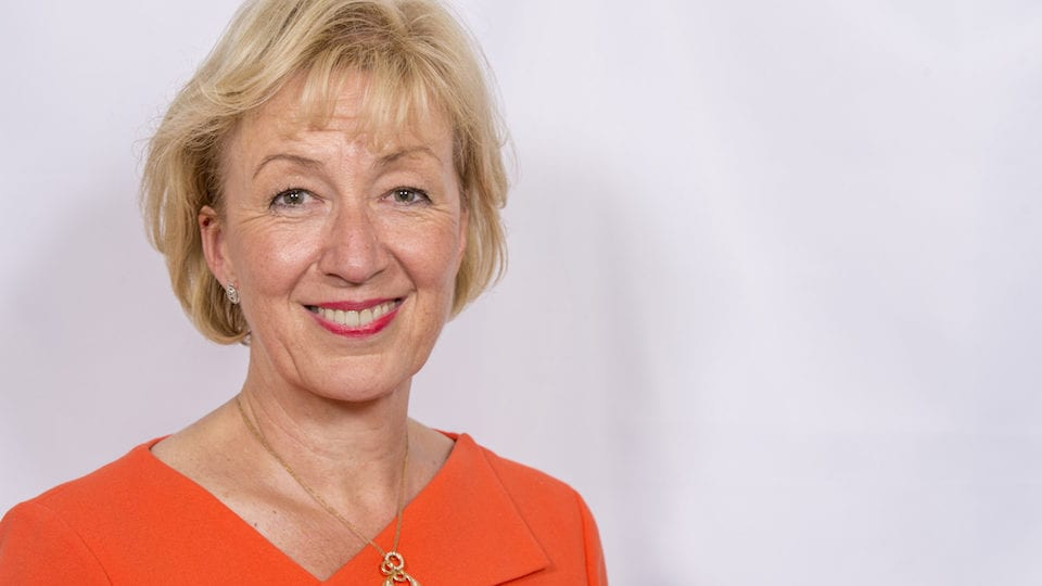 Leadsom gets top job at BEIS