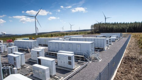 Vattenfall powers up Welsh battery storage scheme