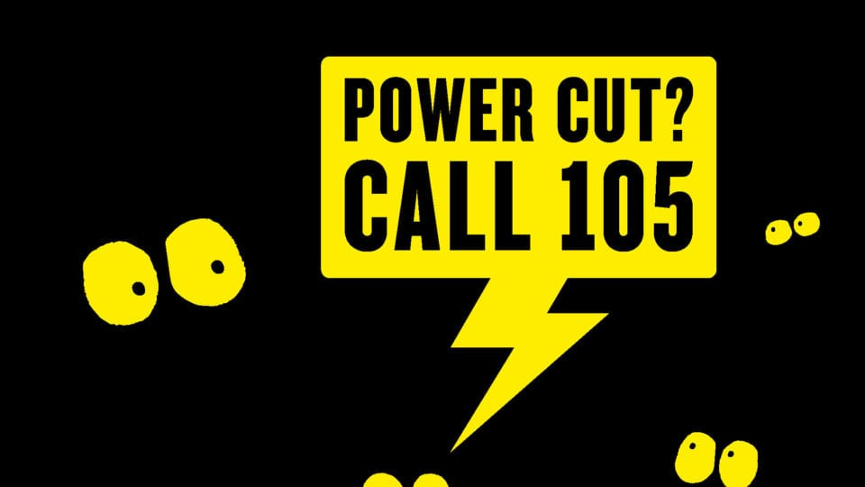 Two-year anniversary for 105 power cut number