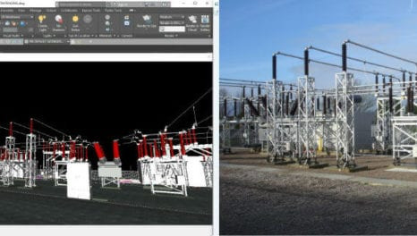 WPD using 3D modelling to design substations