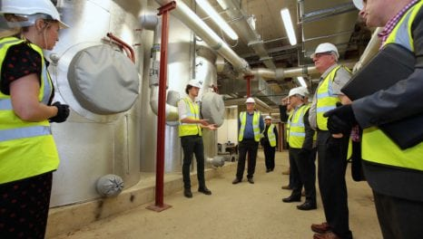 Ofgem chairman visits heat network