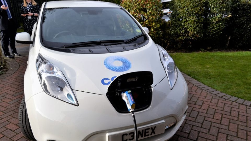 Cenex to carry out EV charge point feasibility study