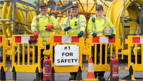 Wales & West Utilities maintains health and safety record