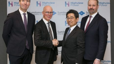 Sumitomo backs Highview with £36m global partnership