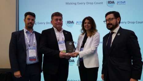 IDA awards recognise Aqualia, Dow, and Dr Frenkel