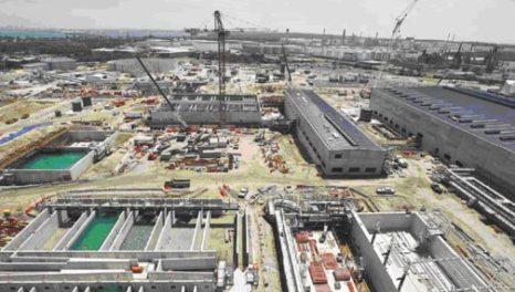 Sydney desalter construction reaches halfway point