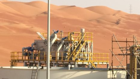 ACWA Emirates delivers MBR reuse plant for Saudi Aramco