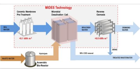 Microbial desalination demonstration plant launched for brackish water